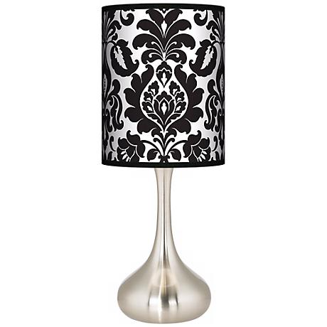 Stacy Garcia Metropolitan Giclee Kiss Table Lamp