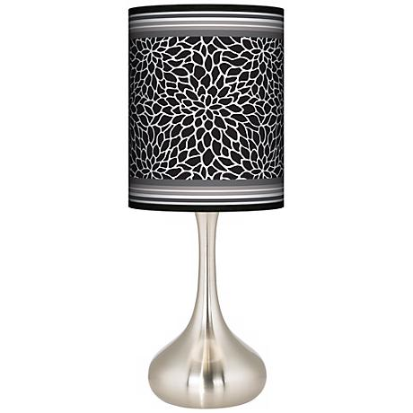 Stacy Garcia Metropolitan Dahlia Giclee Kiss Table Lamp