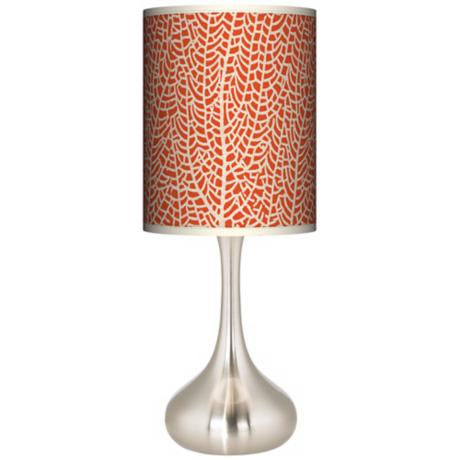 Stacy Garcia Seafan Coral Giclee Kiss Table Lamp