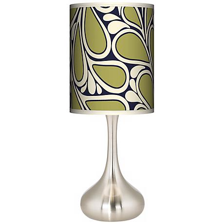 Stacy Garcia Rain Metal Giclee Kiss Table Lamp