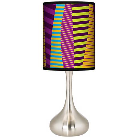 Mambo Giclee Kiss Table Lamp