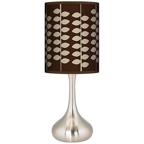 Hi Fi Giclee Kiss Table Lamp