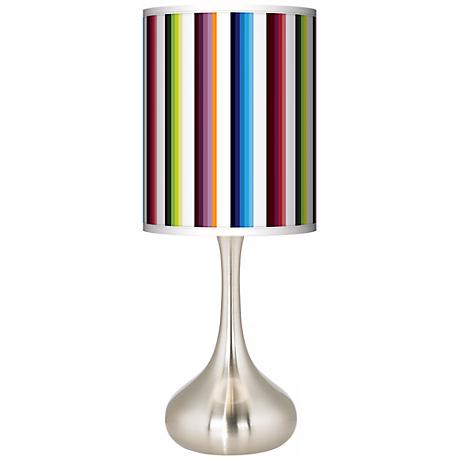 Technocolors Giclee Kiss Table Lamp