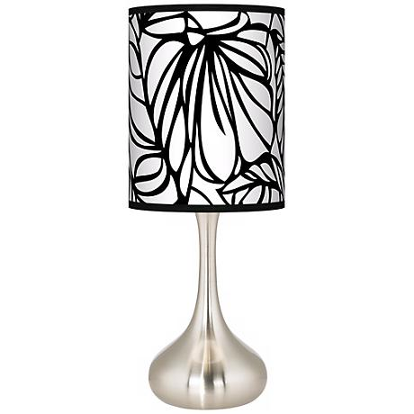 Jungle Moon Giclee Kiss Table Lamp