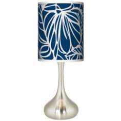 Jungle Rain Giclee Kiss Table Lamp