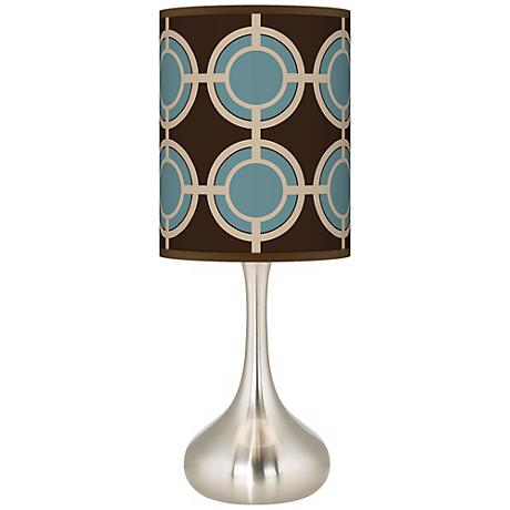 Stacy Garcia Porthole Giclee Kiss Table Lamp