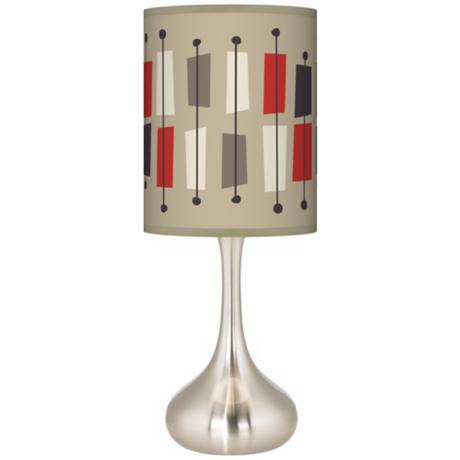 Bounce Giclee Kiss Table Lamp