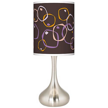 Linger Giclee Kiss Table Lamp