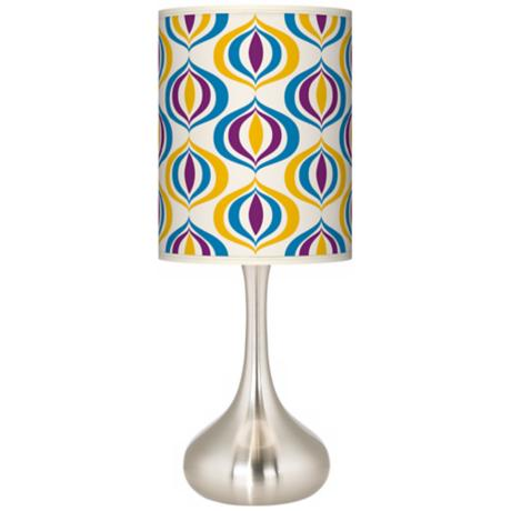 Scatter Giclee Kiss Table Lamp