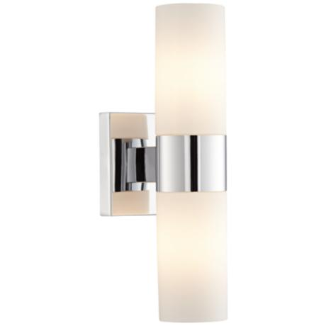 "Minka-Lavery Opal Glass 13 1/2"" High Wall Sconce"