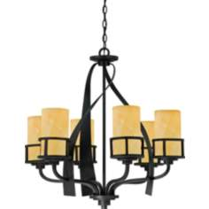 Kyle Imperial Bronze 6-Light Chandelier