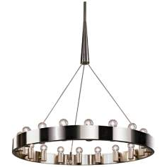 "Robert Abbey Candelaria 36"" Wide Chandelier"