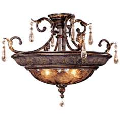 "Metropolitan Sanguesa 26 1/2"" Wide Semiflush Ceiling Light"