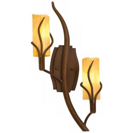 "Napa Collection 23"" High 2-Light Right Side Wall Sconce"