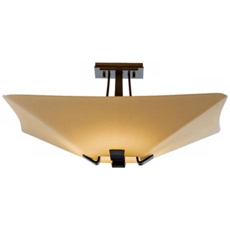 "Vortis Collection Bronze 18 3/4"" Wide Ceiling Light Fixture"