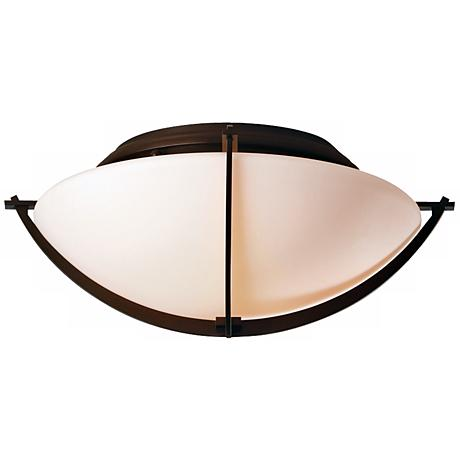 "Compass Collection Mahogany 15 3/4"" Wide Ceiling Light"