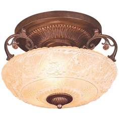 "Restoration Collection 15"" Wide Ceiling Light Fixture"