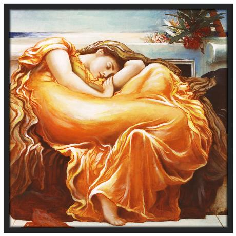 "Sweet Dreams 37"" Black Square Giclee Wall Art"