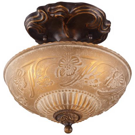 "Restoration Collection 10"" Wide Ceiling Light Fixture"