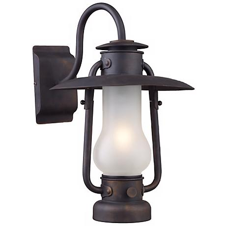 "Chapman Matte Black 16"" High Wall Sconce"