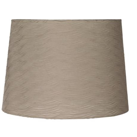 Taupe Horizontal Wave Pleated Shade 12x14x10 (Spider)