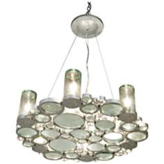"Varaluz Fascination Collection 28"" Wide Chandelier"
