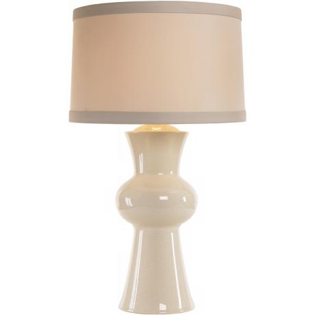 Arteriors Home Gordon Ivory Crackle Porcelain Table Lamp