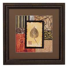 September Leaves Transitional I Framed Wall Art