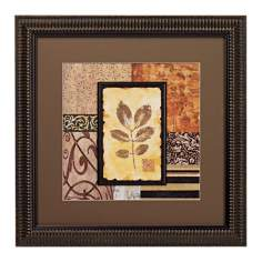 September Leaves Transitional II Framed Wall Art