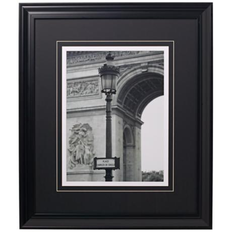 "Arc de Triomphe Glass Covered 24"" High Print"