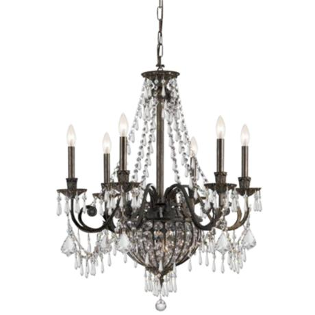 Vanderbilt Collection English Bronze 9-Light Chandelier