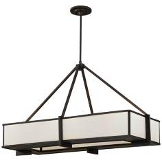 Murray Feiss Stelle Collection Rectangle Pendant Light