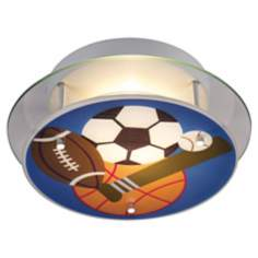 Sports Semiflush Ceiling Light