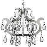 Fredrick Ramond Xanadu Stainless Steel 6-Light Chandelier