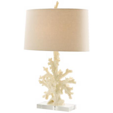 Boca Natural Coral Table Lamp
