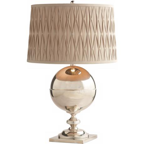 Arteriors Home Bishop Polished Nickel Table Lamp