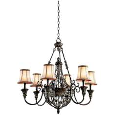"Marchesa Collection 33"" Wide 6-Light Chandelier"