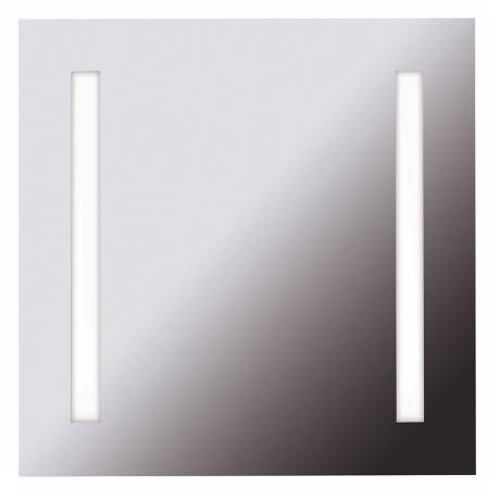 "Destiny 25 3/4"" Square 2-Light Vanity Mirror"