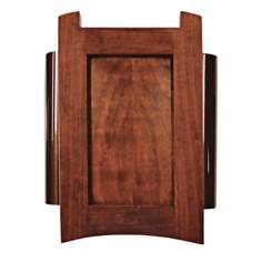 Classic Mahogany with Side Tubes Door Chime
