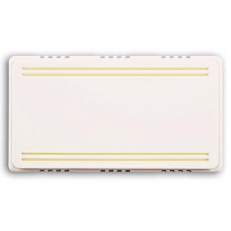 Basic Series 2-Note White with Beige Trim Door Chime
