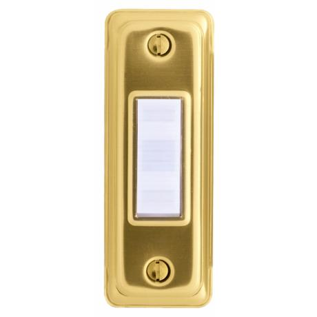 Basic Series Gold Doorbell Button