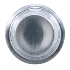 Satin Nickel Finish Round Doorbell Button Insert