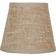 Beige and Cream Weave Shade 8x14x10.25 (Spider)