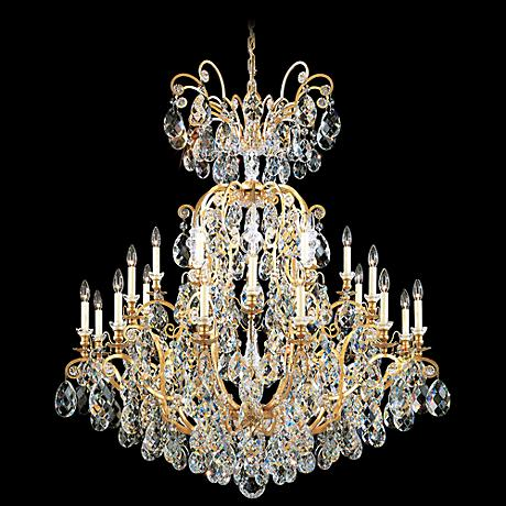 "Schonbek Renaissance Collection 45"" Wide Crystal Chandelier"