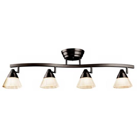 Kichler Design Pro Olde Bronze LED Ceiling Rail Light