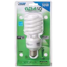 Energy Saving 30 Watt Twist CFL Eco Light Bulb