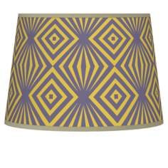 Deco Revival Tapered Lamp Shade 10x12x8 (Spider)