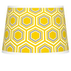Honeycomb Tapered Lamp Shade 10x12x8 (Spider)