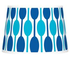 Jet Set Tapered Lamp Shade 10x12x8 (Spider)