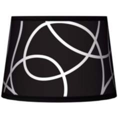 Abstract Tapered Lamp Shade 10x12x8 (Spider)